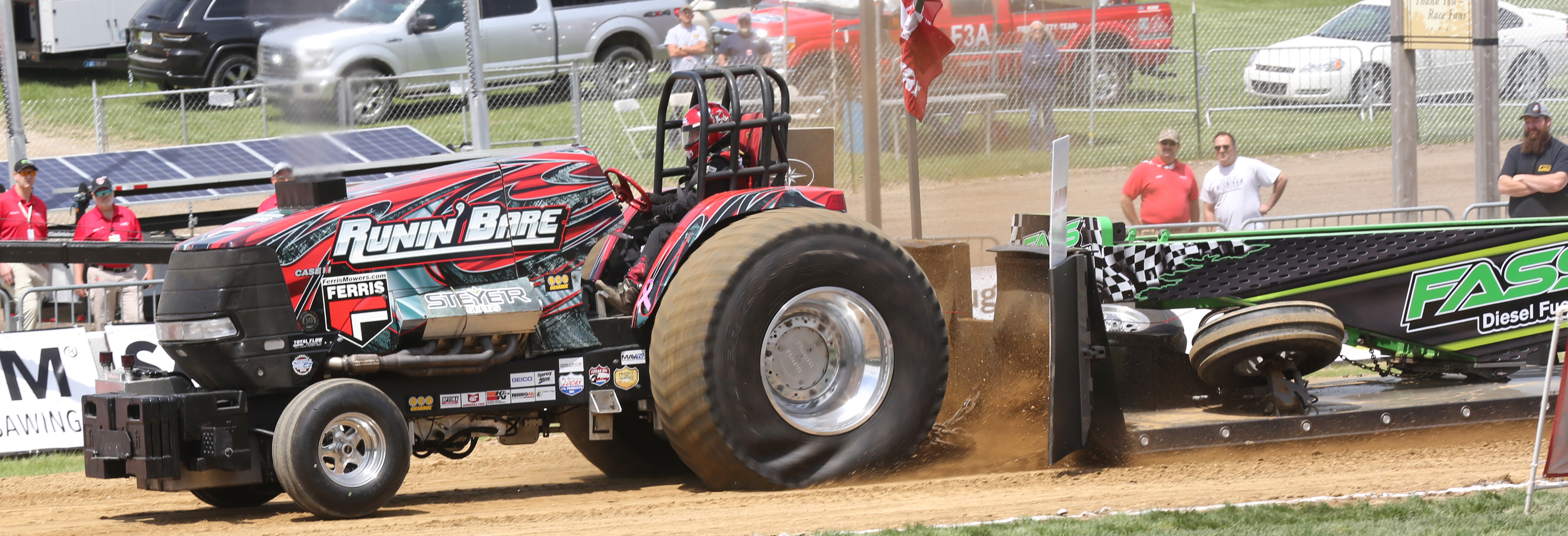 Tractor/Truck Pull At MIS